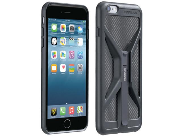 Topeak RideCase iPhone 6+-/6S+-/7+-malleihin sis. pidikkeen , musta